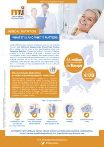 Factsheet medical nutrition